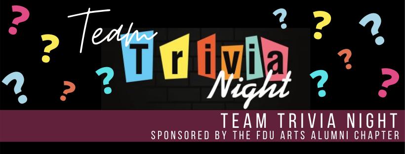 Arts Team Trivia Night