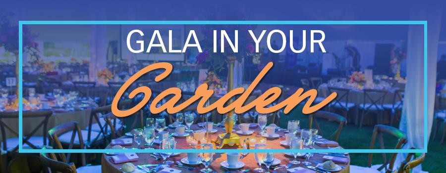 Gala in your garden registration banner
