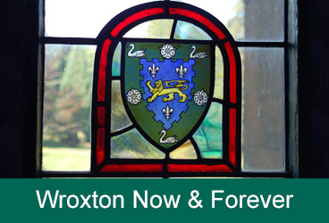 Wroxton Stained Glass Crest