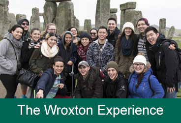 Wroxton Students at Stonehenge